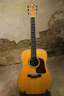 Gallagher Doc Watson model guitar